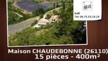 A vendre - Maison - DIEULEFIT (26220) - 15 pièces - 400m²