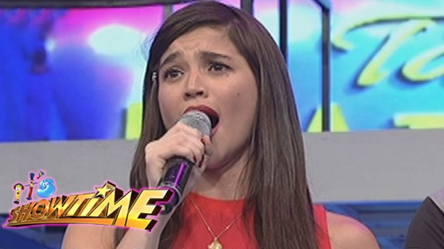 It's Showtime: Jhong gongs Anne's performance