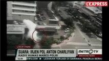 Des explosions filmées dans le centre-ville de Jakarta