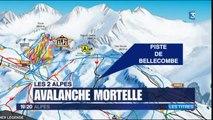 JT 19/20 Alpes de mercredi 13 janvier - Avalanche aux Deux-Alpes