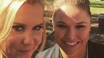 Ronda Rousey et Amy Schumer ont l'air d'être super bonnes copines sur Instagram