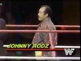 Sgt Slaughter vs Johnny Rodz   Championship Wrestling Nov 3rd, 1984