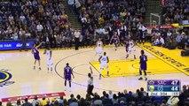 Stephen Curry & Omri Casspis 3-Point Contest | Kings vs Warriors | Dec 28, 2015 | NBA