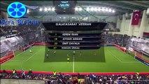 4 Büyükler Salon Turnuvası Beşiktaş 6 - 7 Galatasaray Geniş Özet 13 Ocak 2016