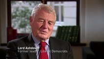 Lord Ashdown: Government is riven by 'chasm of division'