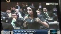 Intervención de la Diputada Delsa Solorzano en el hemiciclo del Parlamento venezolano