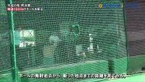 Samurai slices 100 mph baseball in two halfs