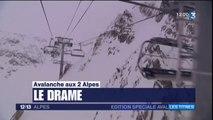 JT 12/13 Alpes de jeudi 14 janvier - Avalanche aux Deux-Alpes : édition spéciale