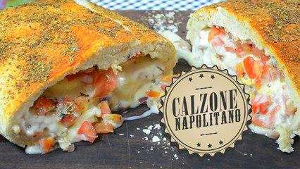 Calzone Napolitano   Comamos Casero