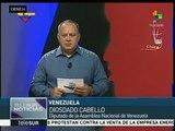 Cabello: AN viola la Constitución al investigar a magistrados del TSJ