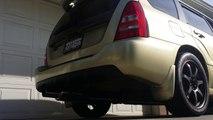 Subaru Forester XT avec Invidia G200 dÉchappement Catback Rev Sonore