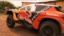 Dakar 2016 - Carlos Sainz fuerte con el Peugeot 2008 DKR