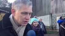 Le préfet du Calvados à la rencontre des éleveurs