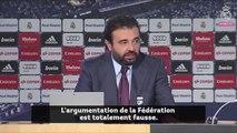 Le DG du Real Madrid annonce une riposte contre la FIFA !