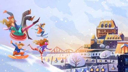 Québec s'empare de l'hiver | Cossette - Squeeze Studio Animation