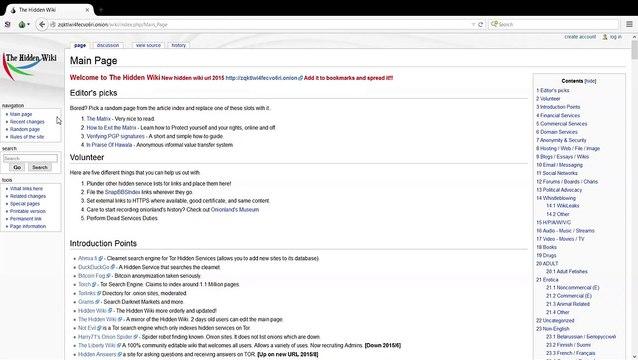 The Deep Web Hidden Wiki Video