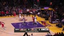 Kobe Bryant & Chris Paul Duel | Clippers vs Lakers | December 25, 2015 | NBA 2015-16 Season