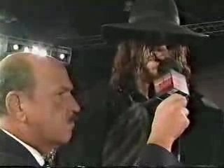 Undertaker Interview - Giant Gonzalez interrupts