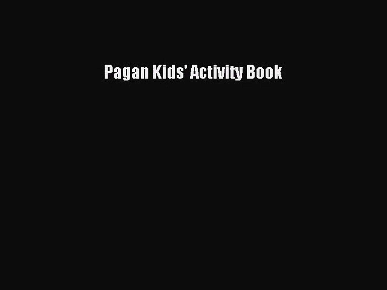 PDF Download Pagan Kids' Activity Book Download Full Ebook