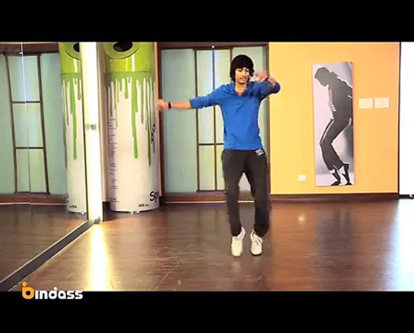 How to Dance Like Mithun Chakraborty with Shantanu   bindass Naach: Learn to Dance