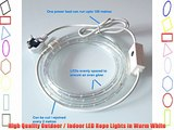 Warm White 40 Metre LED Rope Light High Quality Outdoor LED Rope Lights which are ideal for