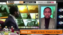 ESPN First Take Today (1/14/2016) Kansas City Chiefs vs New England Patriots: Who Wins?