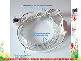 Warm White 50 Metre LED Rope Light High Quality Outdoor LED Rope Lights which are ideal for
