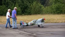 HAWKER TEMPES MK V RC SCALE WARBIRD MODEL FIGHTER PLAN / Meeting Gatow 2015 *1080p50fpsHD*