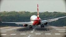 Crosswind Landings At Düsseldorf - Airbus A330, Airbus A319, Boeing 737-800, Embraer ... (HD)  Video Arts