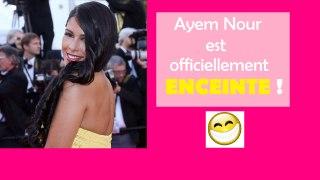Ayem Nour est officiellement enceinte