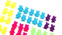 Learn Numbers with Play Doh Candies & Gummy Bears! Learn To Count with Colorful Toys