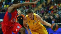 [HIGHLIGHTS] BASKET (Euroleague): CSKA Moscú - FC Barcelona Lassa (93-82)