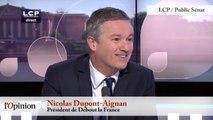 Nicolas Dupont-Aignan : « La primaire, c'est une escroquerie »