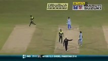 Two massive sixes by Sehwag to Afridi. Sehwag massive sixes against Pakistan Shahid Afridi bowling. Rare cricket video
