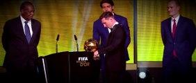 Lionel Messi FIFA Ballon dOr 2015 Winner | HD |