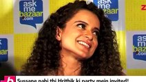 Controversies at Hrithik Roshan Birthday sussane khan