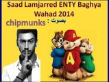 Saad Lamjarred 2014   ENTY Baghya Wahad - Version Chipmunks