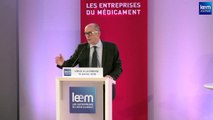 Conférence des vœux à la presse du Leem du 13 janvier 2016 - intervention de Patrick Errard