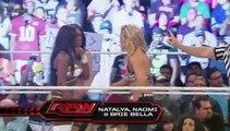 WWE Naomi, Natalya & Brie Bella vs Alicia Fox, Aksana & Layla / Cameron,Eva Marie,Jojo,Nikki Bella,Aj Lee show