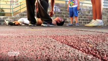 Parkour Body Bounce - Weird Pain Reaction