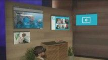 Demostración de las HoloLens de Microsoft