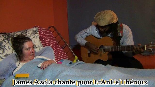 James Azola chante pour France Théroux - SLA SCLÉROSE LATÉRALE AMYOTROPHIQUE