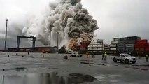 Brésil: un nuage de gaz toxiques plane sur un port