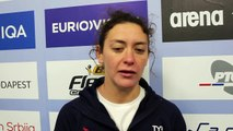 FFN - Euro water-polo 2016: Interview de Louise Guillet après France-Allemagne