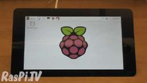 Raspberry Pi lanza una pantalla táctil de 7 pulgadas por 60$