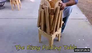 Incredible Folding Table Amazing