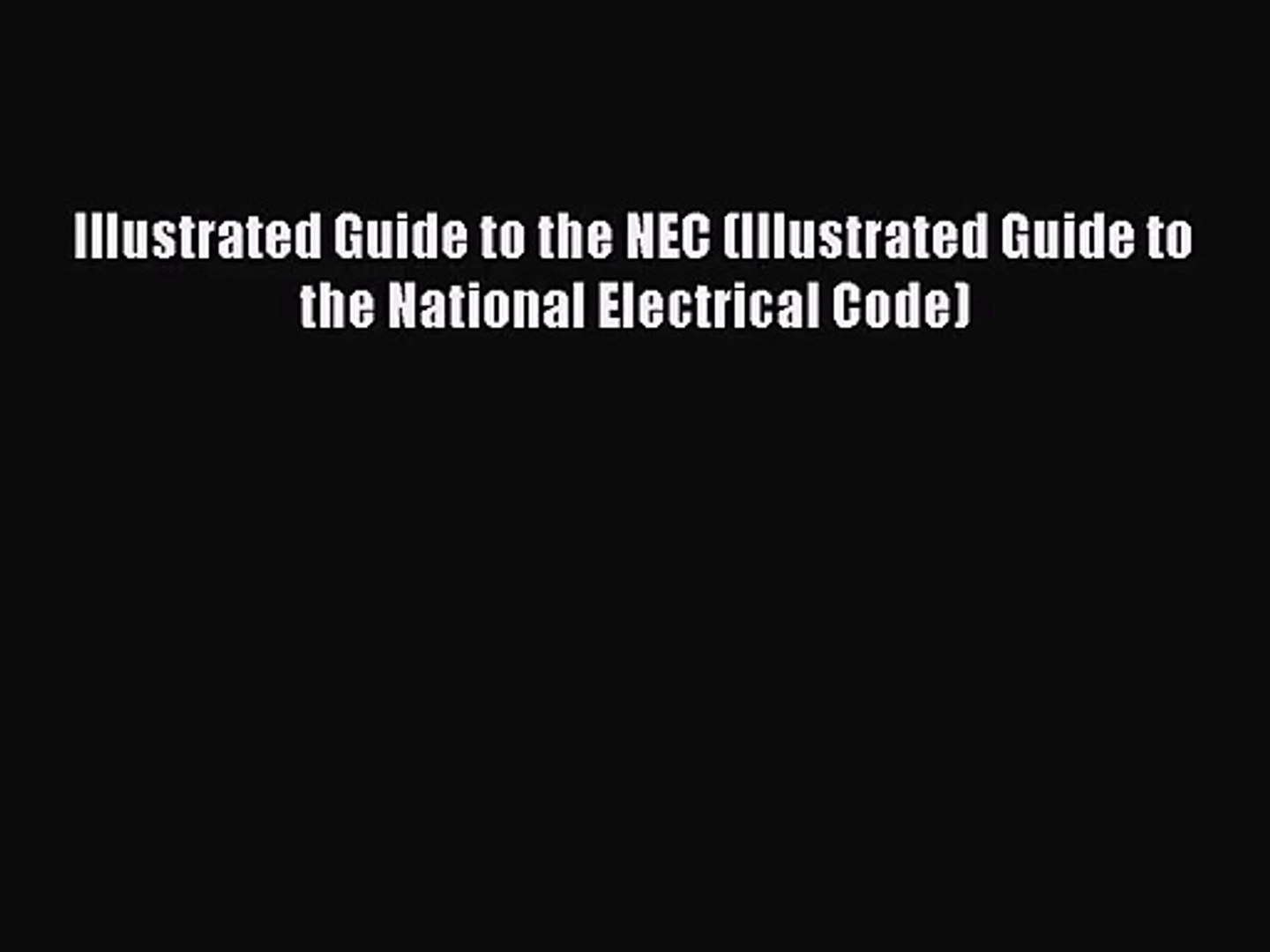 Array - nec illustrated guide ebook  rh   nec illustrated guide ebook wbtechs us