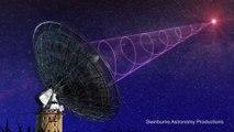 Detectan señales de radio que podrían ser extraterrestres