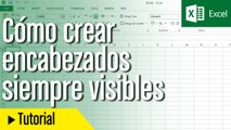 Tutorial: Encabezado visible