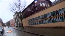 L'agression de journalistes français et belges devant le domicile d'un djihadiste à Molenbeek